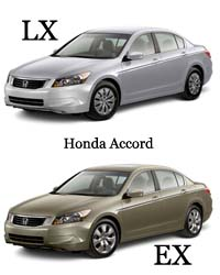 Difference between honda accord lx and ex difference for Difference between honda cr v lx and ex