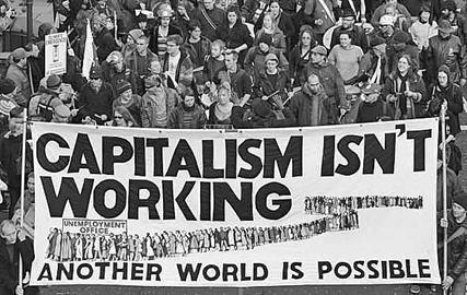 NDP Socialist Caucus Banner