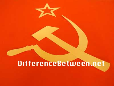 difference between communism and monarchy