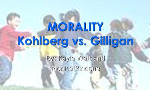 GILLIGAN & KOHLBERG CONTROVERSY