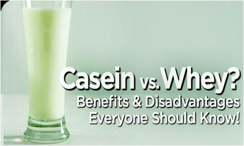 whey and casein