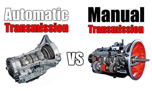 automatic or manual transmission It used to be that nearly every car that offered both a manual and an automatic transmission scored significantly better epa fuel-economy numbers with the manual.