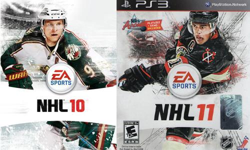 NHL 10 and NHL 11