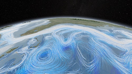 Difference between waves, tides and currents
